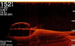 ClearVü Sonarbild von Garmin