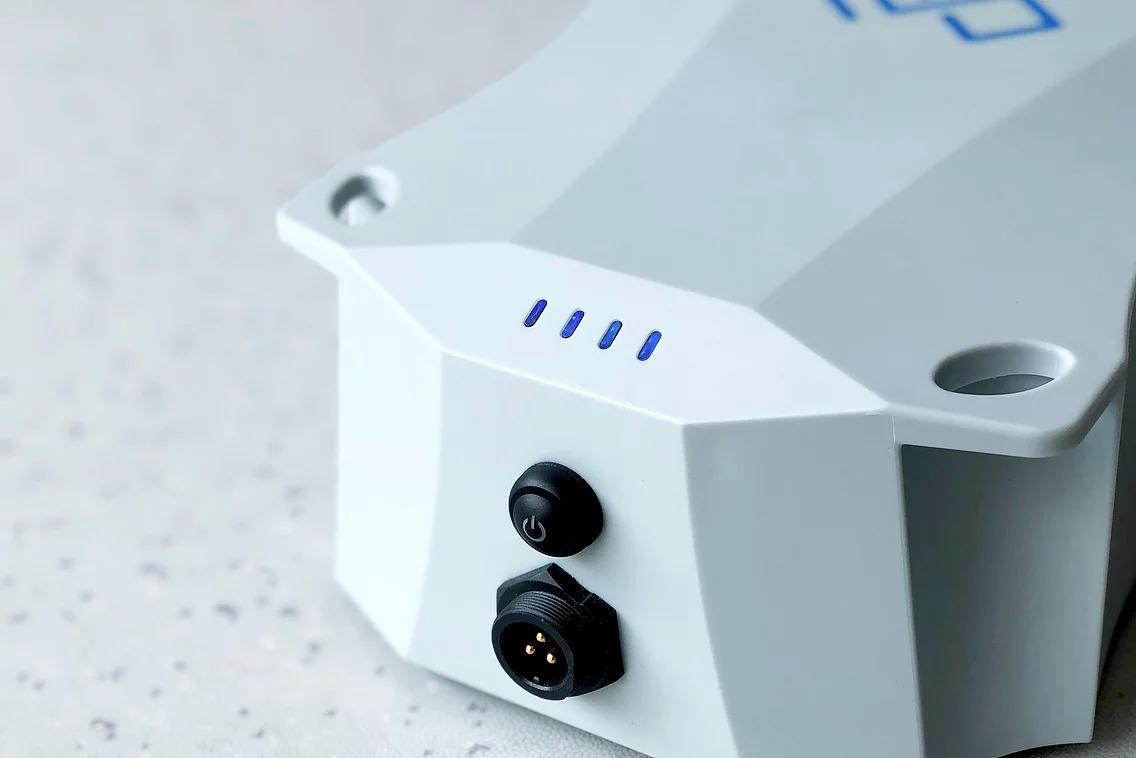 LED-Anzeige der schwimmfähigen Vaquita-Batterie