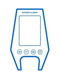 ePropulsion Navy Display