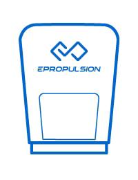 ePropulsion Navy Notaus-Magnetchip