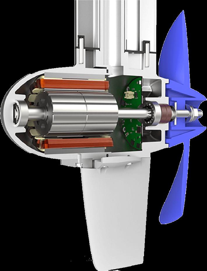 ePropulsion Spirit 1.0 Plus: getriebeloser Elektromotor