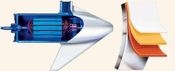 Riptide Transom Motor mit Schutzschicht