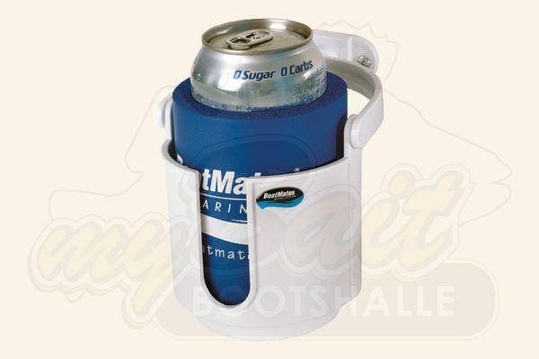 BoatMates Swivel Drink Holder - White