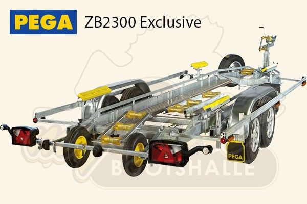 Pega Bootstrailer ZB2300 Exclusive