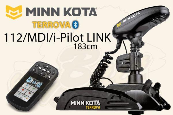 Minn Kota Terrova 112/MDI/i-Pilot LINK 183cm