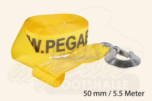 Pega Nylon Gurt für Trailerwinde - 50mm Breite 5.5 Meter Länge