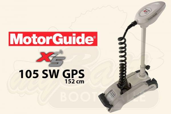MotorGuide Xi5-105 SW GPS, 152cm Schaft