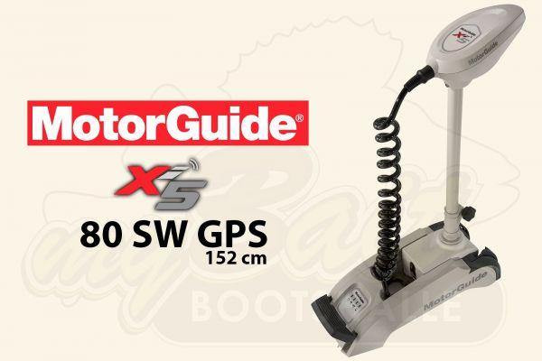 MotorGuide Xi5-80 SW GPS, 152cm Schaft