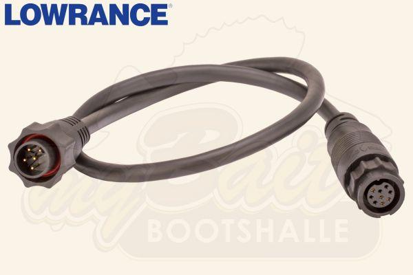 Lowrance Adapter Kabel xSonic Geber auf 7-Pin Gerät