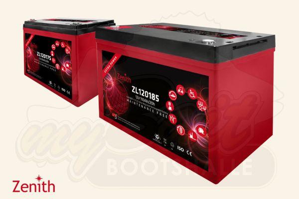 Zenith Bootsbatterie ZL120175 & ZL120185