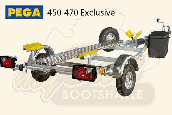 Pega Bootstrailer 450-470 Exclusive