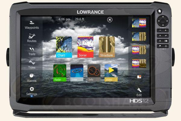 Lowrance HDS-12 Gen3 von Vorne