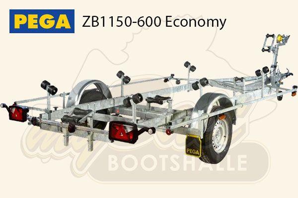 Pega Bootstrailer ZB1150-600 Economy