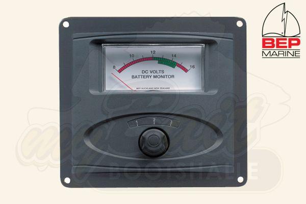 BEP Marine Analoges Messgerät für Batteriezustand