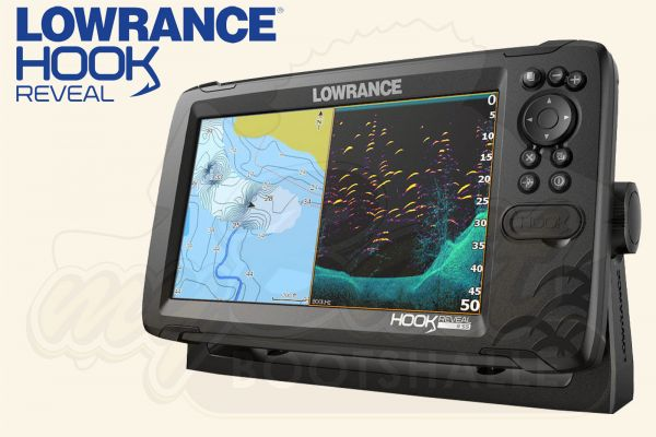 Lowrance HOOK REVEAL 9 50/200 HDI Echolot & Fischfinder