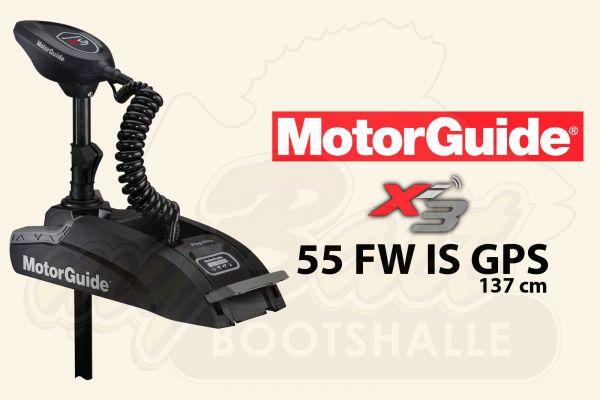 MotorGuide Xi3-55 FW IS GPS, 137cm Schaftlänge