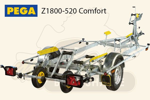 Pega Bootstrailer Z1800-520 Comfort