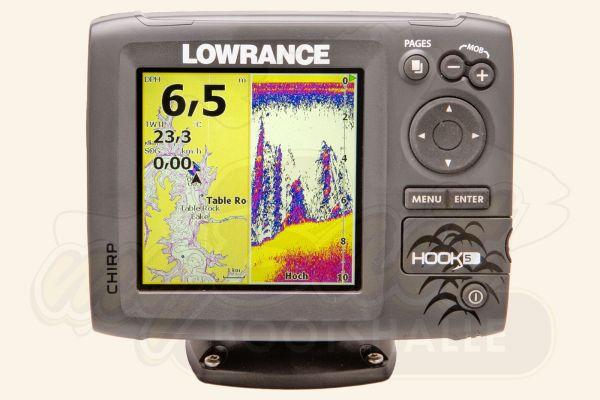 Lowrance Hook-5 Echolot