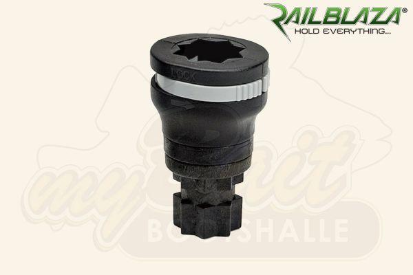 Railblaza 360° drehbare Geräteaufnahme, schwarz