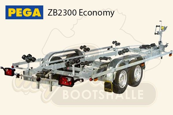 Pega Bootstrailer ZB2300 Economy