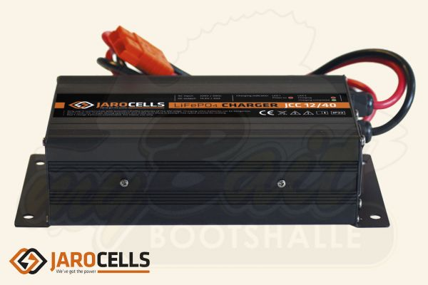Jarocells LiFePo4 Lithium Ladegerät, Aluminium, IP22