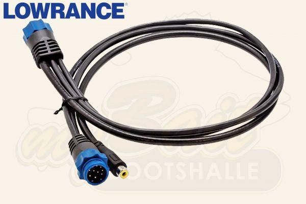 Lowrance Video Adapterkabel für HDS Touch-Geräte
