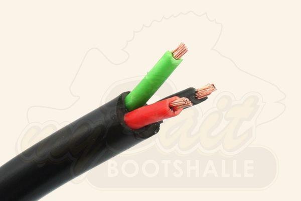 Batteriekabel 3 x 1,5mm² Schwarz,Rot,Grün
