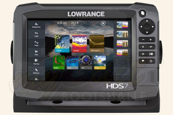 Lowrance HDS-7 Gen3 Touch Home von Vorne