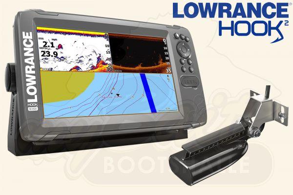 Lowrance Hook2-9 inkl. SplitShot HDI Geber