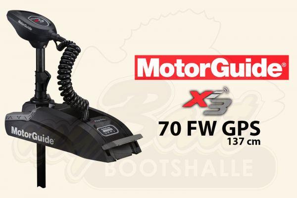 MotorGuide Xi3-70 FW GPS, 137cm Schaftlänge