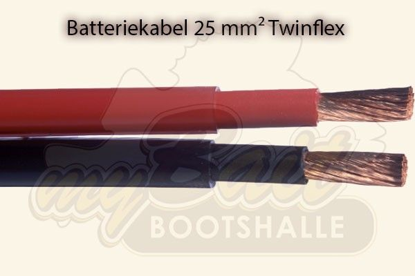 Batteriekabel 25mm² Twinflex
