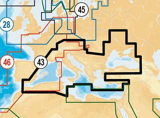 Navionics Gold XL9 Europa