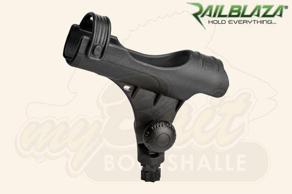 "Railblaza Angelruten-Halter Rod Holder Modell ""R"", schwarz"