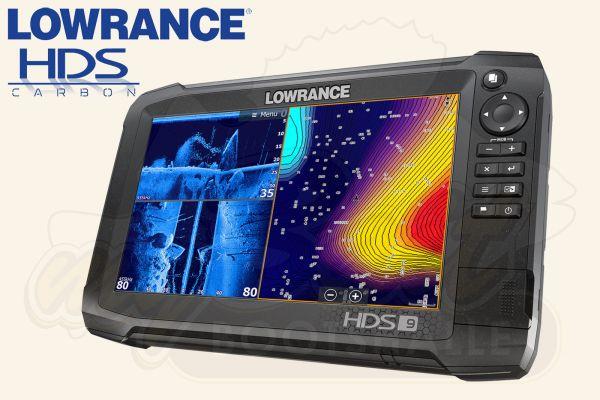Lowrance HDS 9 Carbon Echolot mit Logo