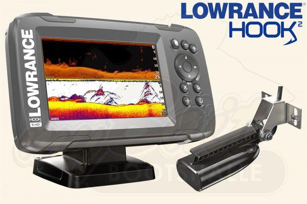 Lowrance Hook2-5 inkl. SplitShot HDI Geber