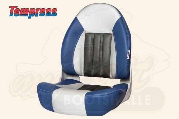 Tempress ProBax Bootsstuhl Blue / Gray / Carbon