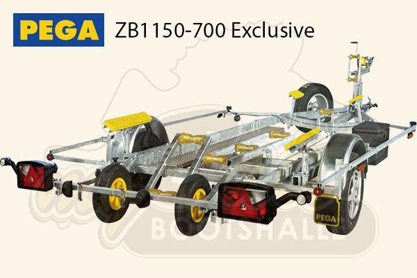 Pega Bootstrailer ZB1150-700 Exclusive