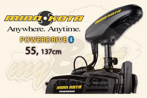Minn Kota Powerdrive 55, 137cm Schaft