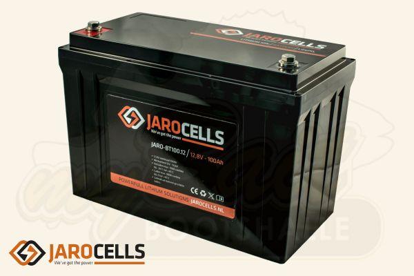 Jarocells Lithium Ionen Batterie mit Bluetooth Batteriecomputer