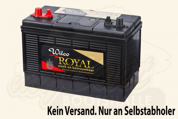 Wilco Royal Blei-Kalzium-Batterie wartungsfrei 12V 105 Ah (WVDC31M)