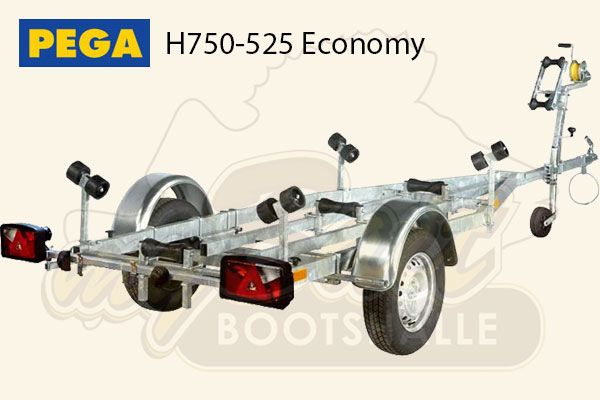 Pega Bootstrailer H750-525 Economy