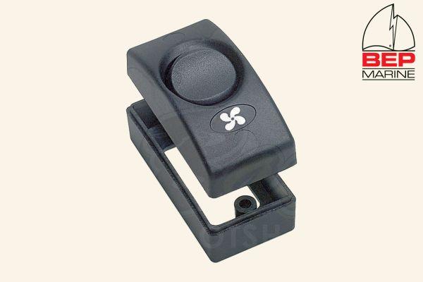 BEP Marine Einzelschalter Schalter 1100-BK On/Off, schwarz