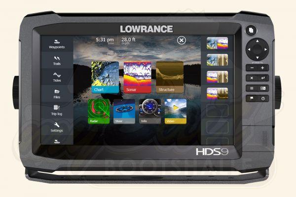 Lowrance HDS-9 Gen3 Home von Vorne