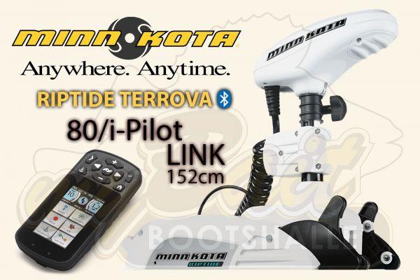 Minn Kota Riptide Terrova 80/i-Pilot-LINK, 152 cm Schaft