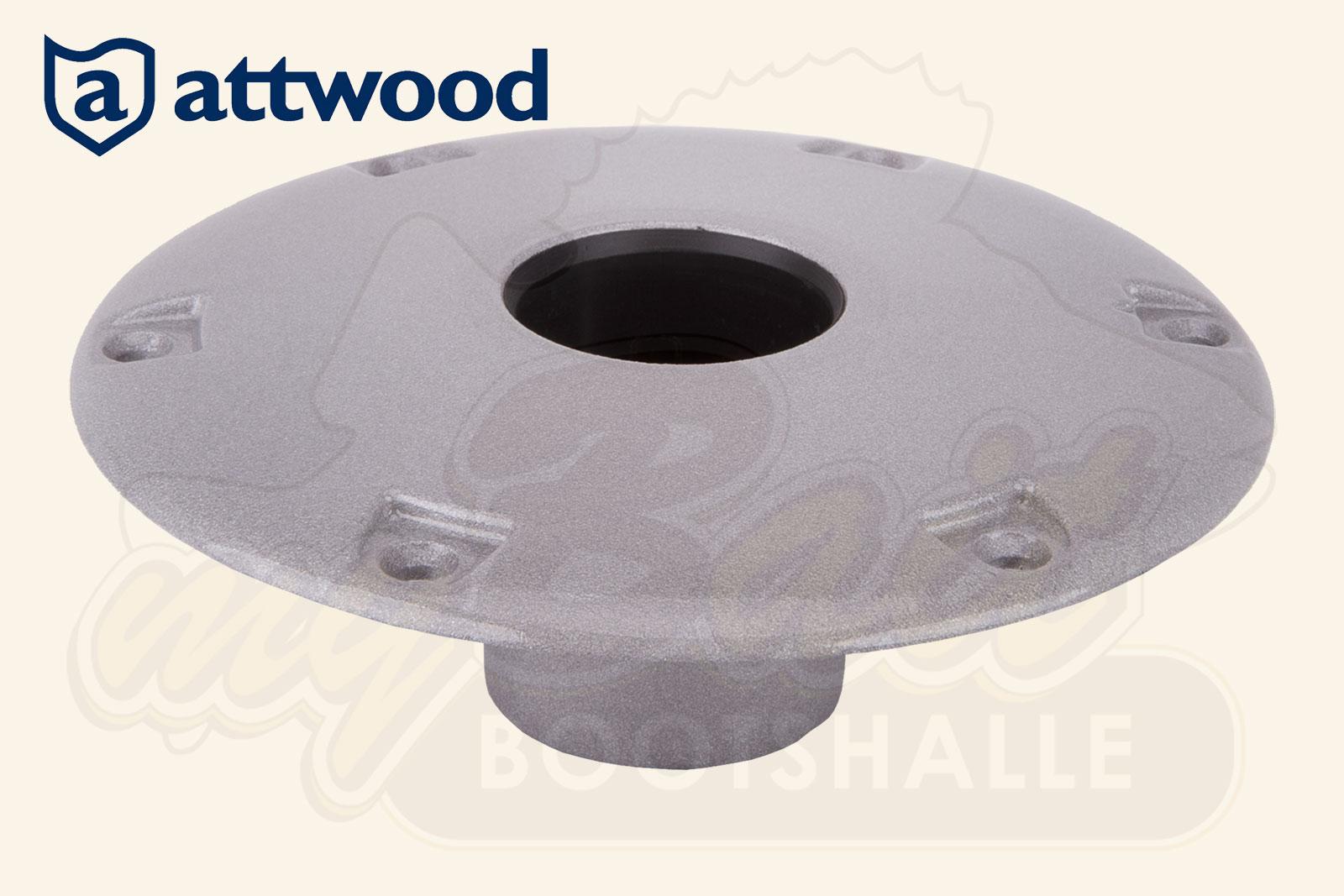 Swivl Eze Base Einbau Bodenplatte LakeSport 238 Serie Anodisiert