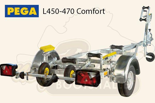 Pega Bootstrailer L450-470 Comfort