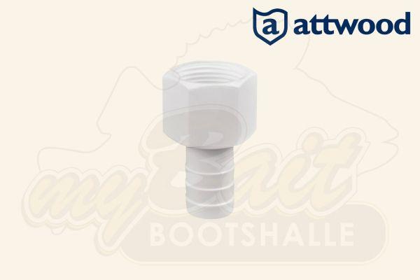 Attwood Fitting mit Schlauchtülle 3899-1