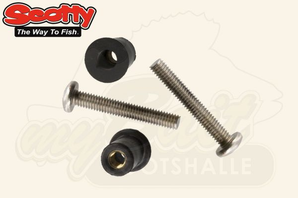 Scotty Hohlraumdübel Well Nut Mounting Kit No. 133