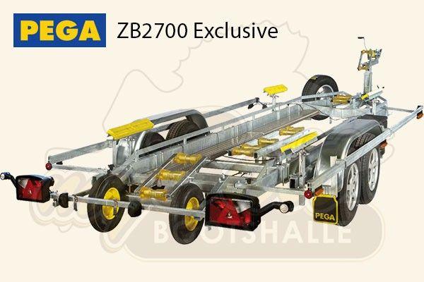 Pega Bootstrailer ZB2700 Exclusive