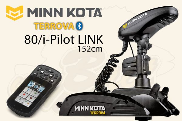 Minn Kota Terrova 80/i-Pilot LINK (ohne Fußpedal)